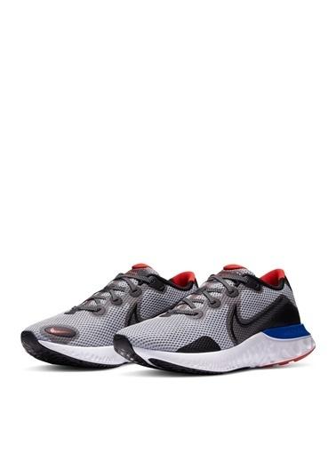 Nike Nike Renew Run Erkek Gri Koşu Ayakkabısı Gri